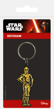Star Wars - C3PO Ключодържатели - гумени