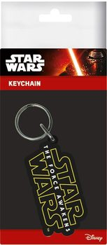 Star Wars Episode VII: The Force Awakens - Logo Ключодържатели - гумени