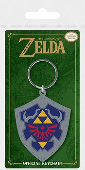 The Legend Of Zelda - Hylian Shield Ключодържатели - гумени