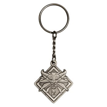 Ключодържател The Witcher 3: Wild Hunt - Medallion