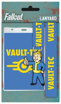 Fallout 4 - Vault Tech - Ключодържател с каишка
