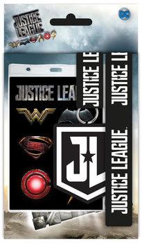 Jutice League - Movie Logo - Ключодържател с каишка