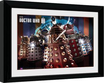 Doctor Who - Daleks Плакат у рамці