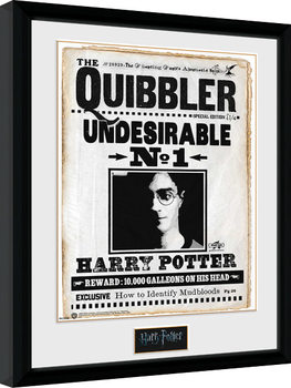 Harry Potter - Quibler Плакат у рамці
