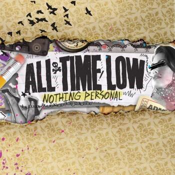 ALL TIME LOW – album cover Лепенки