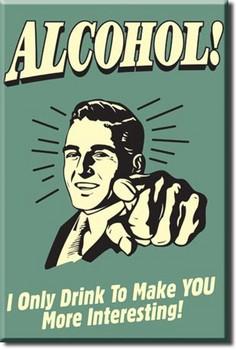 ALCOHOL- you interesting Магнити