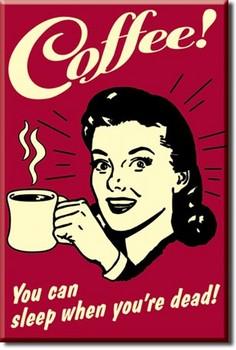 COFFEE - sleep Магнити