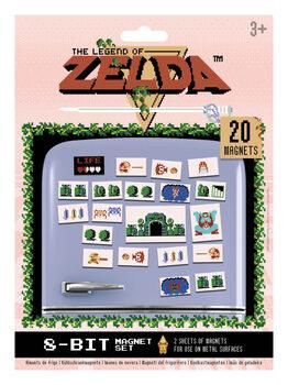 Магнити The Legend of Zelda - Retro