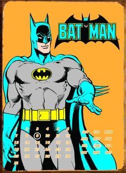 BATMAN POSE Металевий знак