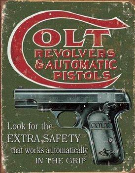COLT - extra safety Металевий знак