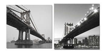 Gray bridge Навісна картина