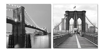 Gray bridge pillar Навісна картина