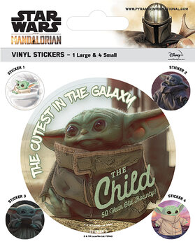 Наклейка Star Wars: The Mandalorian - The Child