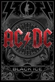 Плакат AC/DC - black ice