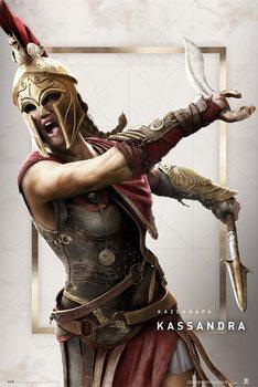 Плакат Assassin's Creed: Odyssey - Kassandra