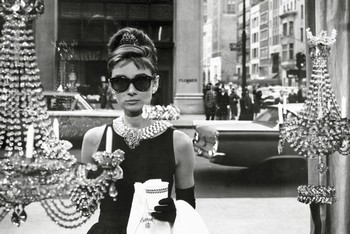 Плакат Audrey Hepburn - window