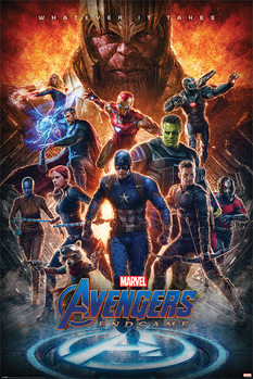 Плакат Avengers: Endgame - Whatever It Takes