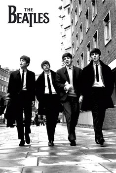 Плакат Beatles - in London