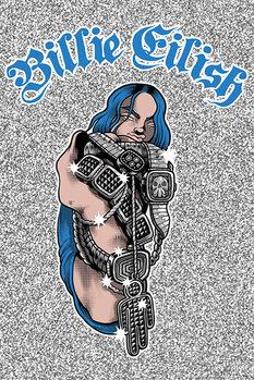 Плакат Billie Eilish - Bling