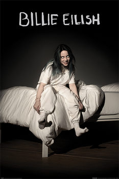 Плакат Billie Eilish - When We All Fall Asleep Where Do We Go
