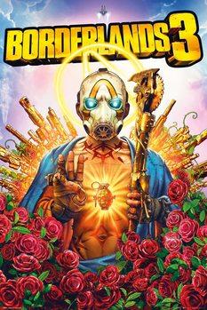 Плакат Borderlands 3 - Cover
