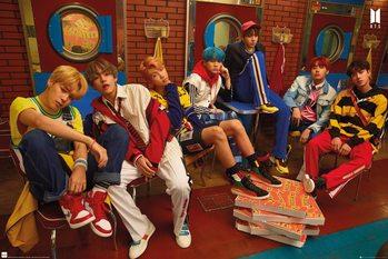 Плакат BTS - Crew