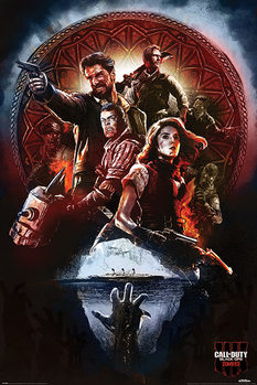 Плакат Call of Duty: Black Ops 4 - Zombies