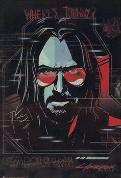 Плакат Cyberpunk 2077 - Ghost In The Machine