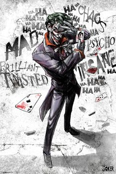 Плакат DC Comics - Joker Type