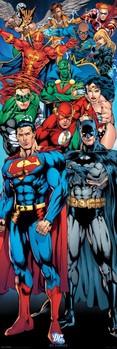 Плакат DC COMICS - justice league of america