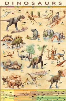 Плакат Dinosaurs