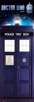 Плакат DOCTOR WHO - tardis