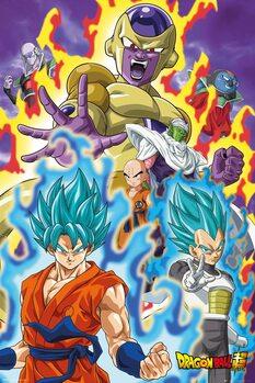 Плакат Dragon Ball - God Super