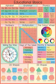Плакат Educational Basics
