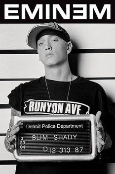 Плакат Eminem - mugshot