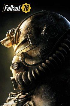 Плакат Fallout 76 - T51b