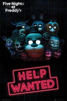 Плакат Five Nights at Freddy's - Help Wanted