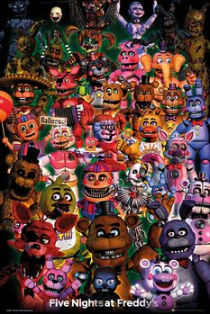 Плакат Five Nights At Freddy's - Ultimate Group