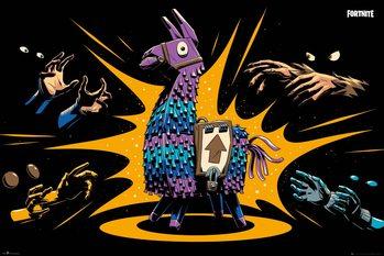 Плакат Fortnite - Loot Llama