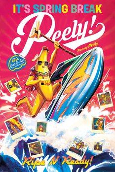 Плакат Fortnite - Spring Break Peely
