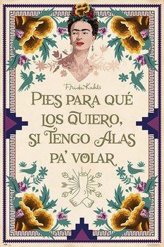 Плакат Frida Kahlo