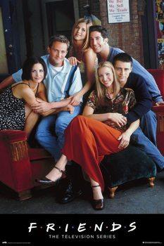 Плакат Friends - Characters