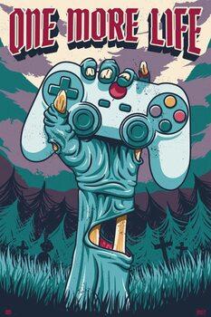 Плакат Gamer - One More Life