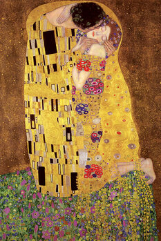 Плакат Gustav Klimt – kiss