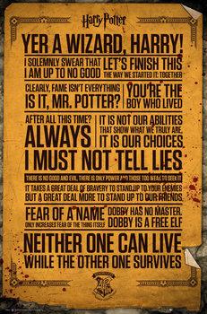 Плакат Harry Potter - Quotes
