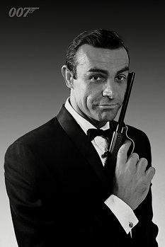 Плакат James Bond 007 - The Name Is Bond (Sean Connery)