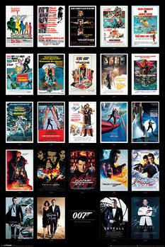 Плакат James Bond - Movie Posters
