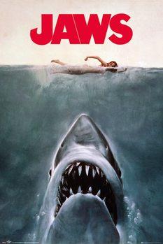 Плакат Jaws - Key Art