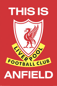 Плакат Liverpool FC - This Is Anfield
