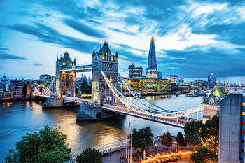 Плакат London - Tower Bridge